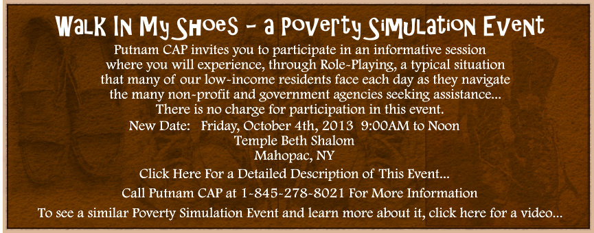 Poverty Simulation Event